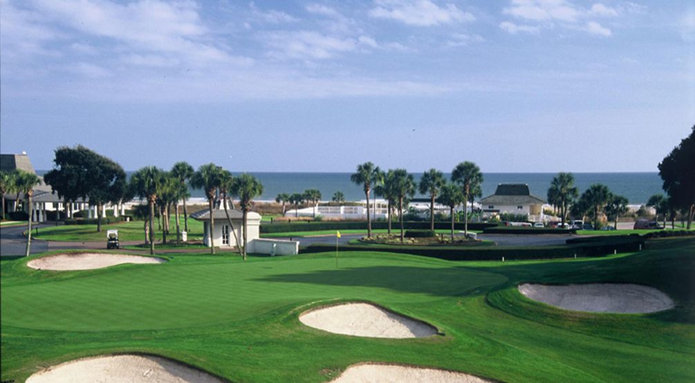 Dunes Golf and Beach Club, Hole #9